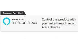 Amazon Alexa certified