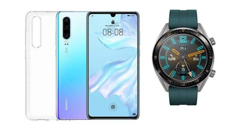 Huawei P30 Huawei Watch GT Active