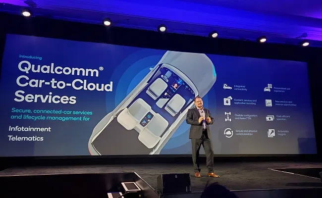 Qualcomm Car to cloud services